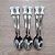 Colher para Doces Ossinho - 6 unidades - Rizzo Embalagens - Imagem 1