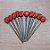 Palito p Petiscos Morango - 10 unidades - Rizzo Embalagens - Imagem 1