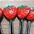 Palito p Petiscos Morango - 10 unidades - Rizzo Embalagens - Imagem 2