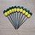 Palito p Petiscos Abacaxi - 10 unidades - Rizzo Embalagens - Imagem 1