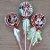 Pirulito Lembrancinha Festa Minnie - 10 unidades - Rizzo Festas - Imagem 1