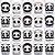 Copinho para Doces com Colher 40ml Festa Panda - 20 unidades - Rizzo Festas - Imagem 2