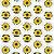 Potinho Acrílico Tampa Rosqueável 80ml Lembrancinha Festa Girassol - 20 unidades - Rizzo Festas - Imagem 2