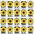 Copinho para Doces com Colher 40ml Festa Girassol - 20 unidades - Rizzo Festas - Imagem 2