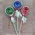 Pirulito Lembrancinha Festa Pj Masks - 10 unidades - Rizzo Festas - Imagem 1