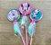 Pirulito Lembrancinha Festa Minnie Rosa - 10 unidades - Rizzo Festas - Imagem 1