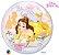 Balão Bubble Transparente Disney Princesa Bela - 22'' 56cm - Qualatex - Rizzo festas - Imagem 2