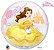 Balão Bubble Transparente Disney Princesa Bela - 22'' 56cm - Qualatex - Rizzo festas - Imagem 1