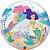 Balão Bubble Transparente Festa Sereia - 22'' 56cm - Qualatex - Rizzo festas - Imagem 1