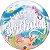 Balão Bubble Transparente Festa Sereia - 22'' 56cm - Qualatex - Rizzo festas - Imagem 2