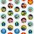 Potinho Acrílico Tampa Rosqueável 80ml Lembrancinha Festa Toy Story 4 - 20 unidades -  Rizzo Festas - Imagem 2