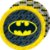 Prato Festa Batman 18cm - 08 unidades - Festcolor - Rizzo Festas - Imagem 1