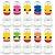 Mini Tubete Lembrancinha Festa Baby Shark - 8cm - 10 unidades -  Rizzo Embalagens e Festas - Imagem 6
