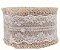 Fita de Juta Rendada para Decoração - 4cm x 2m - Rizzo Embalagens - Imagem 1