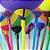 Suporte Balões Pega Balão 10 unidades KLF - Rizzo Embalagens e Festas - Imagem 1