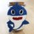 Potinho Vidro com Rolha 100ml Lembrancinha Baby Shark - Rizzo Embalagens e Festas - Imagem 3