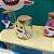 Potinho Vidro com Rolha 100ml Lembrancinha Baby Shark - Rizzo Embalagens e Festas - Imagem 2