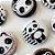 Bottom para Lembrancinha Festa Panda - 12 unidades - Rizzo Embalagens - Imagem 1