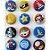 Bottom para Lembrancinha Festa Mario Kart- 12 unidades - Rizzo Embalagens - Imagem 2