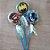 Pirulito Lembrancinha Festa Batman - 10 unidades - Rizzo Festas - Imagem 1