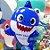 Balão Festa Baby Shark 18'' 45cm - Rizzo Embalagens - Imagem 3