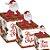Caixa Panetone Pop Up Turminha de Natal - 10 unidades - Cromus Natal - Rizzo Embalagens - Imagem 1
