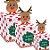Caixa Panetone Pop Up Rena - 10 unidades - Cromus Natal - Rizzo Embalagens - Imagem 1