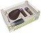 Caixa Ovo de Colher Kit Confeiteiro Diversão 2268 - Meio Ovo de 150g - 10 unidades - Ideia Embalagens - Páscoa Rizzo Emb - Imagem 1