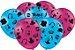 Balão Festa Trolls 2 - 25 unidades - Festcolor Festas - Rizzo Embalagens - Imagem 1