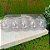 Caixa com 10 Mini Ovos de Plástico Transparente - Rizzo Embalagens - Imagem 1