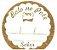 Etiqueta Bolo no Pote - 100 unidades - Decorart - Rizzo Embalagens - Imagem 1