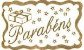 Etiqueta Parabéns - 100 unidades - Decorart - Rizzo Embalagens - Imagem 1