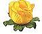 Forminha para Doces Finos - Rainha Amarelo Queimado - 40 unidades - Decora Doces - Rizzo Festas - Imagem 1