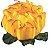 Forminha para Doces Finos - Rosa Maior Amarelo Queimado - 40 unidades - Decora Doces - Rizzo Festas - Imagem 1