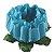 Forminha para Doces Finos - Rosa Maior Azul Piscina - 40 unidades - Decora Doces - Rizzo Festas - Imagem 1