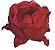 Forminha para Doces Finos - Bela Tela Vermelho - 30 unidades - Decora Doces - Rizzo Festas - Imagem 1
