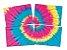 Painel Decorativo 4 Laminas Festa Tie Dye - 01 Unidade - Festcolor - Rizzo Festas - Imagem 1