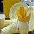 Prato Papel Biodegradável Festa Junina Amarelo - 10 un -  18 cm - Silver Festas - Imagem 1