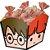 Cachepot Festa Harry Potter Kids - 8 unidades - Festcolor - Rizzo Festas - Imagem 1