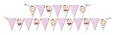 Faixa Decorativa Festa Ursinha Rosa - 01 unidade - Festcolor - Rizzo Festas - Imagem 1