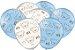 Balão Festa Ursinho Azul - 25 unidades - Festcolor - Rizzo Festas - Imagem 1