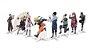 Decoração de Mesa Festa Naruto- 8 unidades - Festcolor - Rizzo Festas - Imagem 1