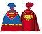 Sacolinha Surpresa Festa Superman - 08 unidades - Festcolor - Rizzo Festas - Imagem 1
