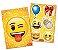 Kit Decorativo Festa Festa Emoji - Festcolor - Rizzo Festas - Imagem 1