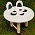Decoração MDF Banco com Orelhas Panda - 01 unidade - Mara Móveis - Rizzo - Imagem 2