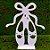 Decoração de MDF Sapatilha Bailarina - G - 01 Unidade - Mara Móveis - Rizzo - Imagem 2