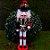 Boneco Soldado Quebra Nozes de Madeira EN009-19 - 31cm - 1 unidade - Global Master - Rizzo - Imagem 1