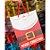 Sacola Decorada Natal G Merry Christmas - 01 unidade - Rizzo Embalagens - Imagem 1
