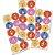 Adesivo Redondo Festa Pooh e Sua Turma - 30 unidades - Festcolor - Rizzo Festas - Imagem 1