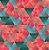 Saco Presente 20x29 - Triângulos - 50 unidades - Regina - Rizzo Embalagens - Imagem 1
